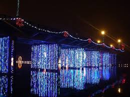 christmas light festival near me bridge on front street in natchitoches la for the lights festival