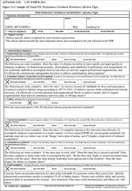 form 931 performance feedback worksheet