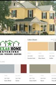 paint colors options combinations texas home exteriors