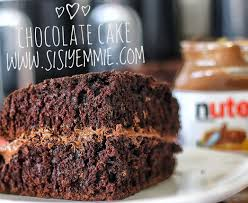 easy chocolate cake recipe sisiyemmie nigerian food u0026 lifestyle