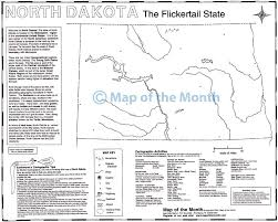 Map North Dakota North Dakota Map Maps For The Classroom