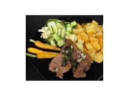 comment cuisiner le coeur de boeuf en tranche coeur de boeuf et sa farandole de légumes par secakejo une recette