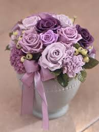 Purple Centerpieces Wedding Centerpieces With Purple Flowers The Wedding