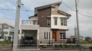 modern zen 2 storey residence w attic cm builders home design