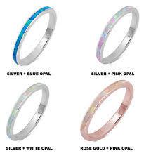 Opal Wedding Ring by Opal Wedding Band Ebay