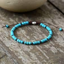 simple beaded bracelet images Boho bracelet mens beaded bracelet 4mm semi precious stone simple jpg