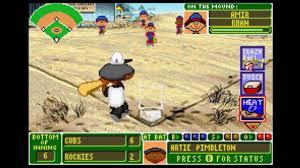 backyard baseball gba game 7 cubs rockies youtube