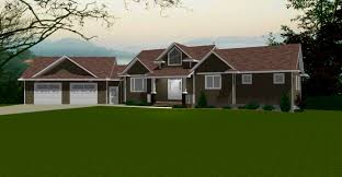 bi level house plans with attached garage bedroom cool attached garage house plans and basement split