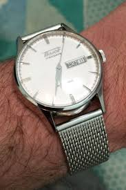 stainless steel bracelet tissot images Tissot visodate white with stainless steel mesh silver bracelet jpg