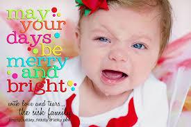 christmas baby cards chrismast cards ideas