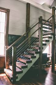 rustic stair railing 25 best ideas about rustic stairs on