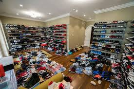 how many shoes are actually in jimmy butler u0027s closet downtown