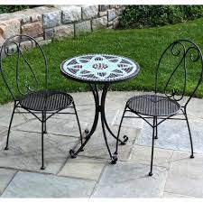 cast iron patio set table chairs garden furniture mybktouch with