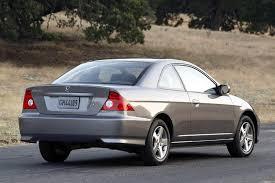2005 Honda Civic Coupe Interior 2004 Honda Civic Overview Cars Com