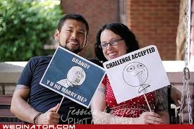Meme Wedding Proposal - loveeee it funny wedding photos proposal accepted blissful
