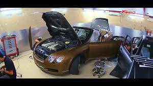 matte gold bentley car wrap dubai bently in brown metallic matt done profoil