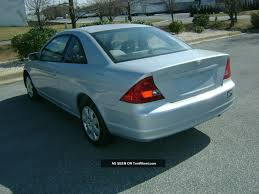 2001 honda civic sedan ex related infomation specifications