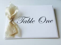 Table Name Cards by Wedding Stationery Victoria De Barros