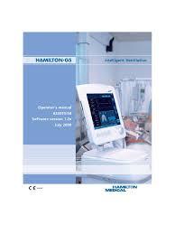 g5 operators manual monitoring medicine respiration
