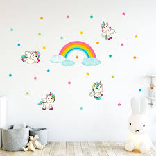 stickers etoile rose wall decal babies unicorns 1 ambiance sticker col sand a071 jpg