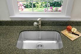 Blanco Stellar U Super Single Bowl Undermount Kitchen Sink - Stainless steel kitchen sinks canada