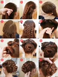 easy updos for long hair tutorial hair style and color for woman
