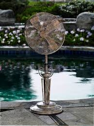 outdoor standing fans patio dbf0619 lido outdoor patio fan floor standing outdoor fan by deco