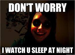 Creepy Memes - scary overly obsessive girlfriend memes quickmeme via relatably