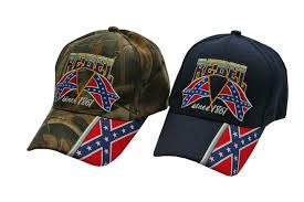 Rebel Flag Gear Assorted Rebel Flag Cap
