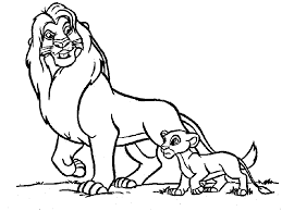 coloring charming lion coloring sheet pages print