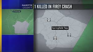 Fayette County Maps 1 Dead After Crash In Fayette County Wpxi