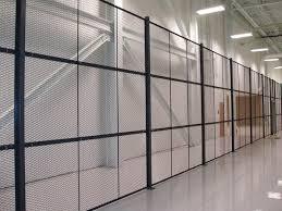 wire partition wall mesh steel diamond mesh secura amico
