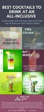 best beach drinks to order at all inclusive resorts infograph