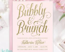 mimosa brunch invitations cupcakes and chagne bridal shower invitation invite bubbly