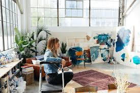 Art Home Inside The Instagram Worthy House Of Sf Artist Heather Day 7x7