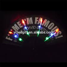 held paper fans light up fanparty decor paper fans weddings party decorations