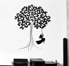 Wood Wall Stickers by Vinyl Wall Decal Beautiful Decor Tree Teen Wood Art Kids Room