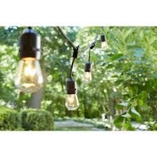 Home Depot Outdoor Decor Hampton Bay 48 Ft 24 Socket Incandescent String Light Set