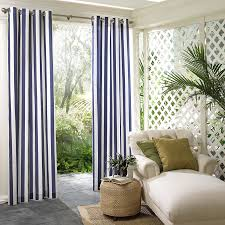 shop parasol 108 in l navy circus stripe outdoor window curtain