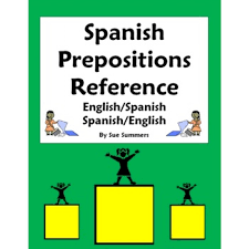 prepositions of location vocabulary reference u0026 estar