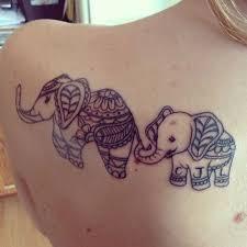baby elephant tattoo 30 elephant family tattoo 2017