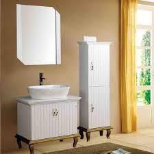Bathroom Storage Cabinets Floor Dazzling Small Bathroom Storage Cabinets White With Bow Shaped