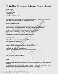Sample Resumes For Mechanical Engineer Qtp Sample Resume For Software Testers Twhois Resume
