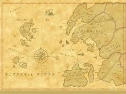 Skyrim World Map by Nirn Elder Scrolls Fandom Powered By Wikia