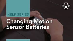 can you put a motion sensor on any light how to change an adt motion detector battery youtube
