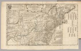 Topographical Map Of United States by Map Of The Middle British Colonies In North America David Rumsey