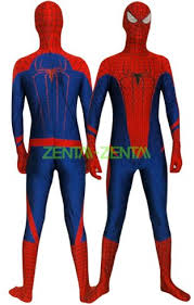 Morph Halloween Costumes Amazing Spider Man Costume 2 Spandex Zentai Suit