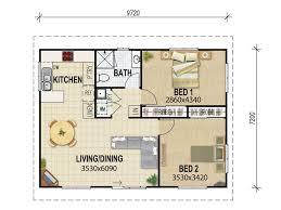 Floor Plan Of 2 Bedroom Flat Granny Flat Floor Plan Ravishing Minimalist Dining Room On Granny