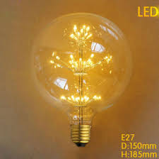 2016 new pumpkin ball bottle globe edison light bulb led lead