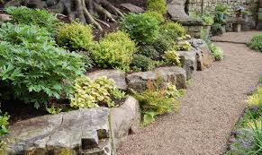 Backyard Rock Garden by Rock Gardens Landscaping Decorating Clear
